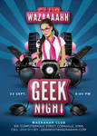 Special Geek Night Party In Club Flyer by n2n44