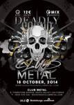 Deadly Sound Club Metal Party by n2n44