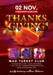 Thanksgiving Special Party In Turkey Club