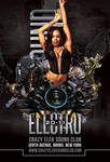 Modern Electro Dance Sound Party In Club