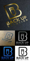 Logo Back Up Solution Technology by n2n44