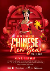 Flyer Celebrate Chinese New Year 2015 In Club by n2n44