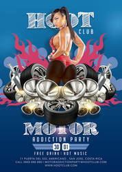 Motor Addiction Party In Hot Hoot Club by n2n44