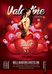 Sweet Sexy Valentine Day Party In Club by n2n44