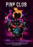 Futuristic Party In Sweet Pink Club by n2n44