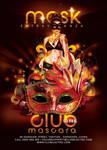 Mask Extravaganza Party In Club Flyer by n2n44