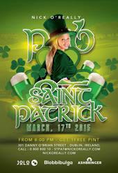 New Saint Patrick Day Celebration In Pub by n2n44