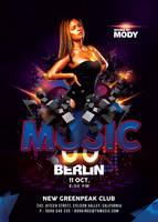 Ultra Modern Techno Music Party In Club by n2n44