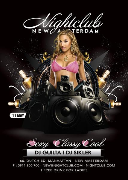 Night Club Flyer by n2n44 on DeviantArt – Club Flyer