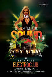 Summer Sound Party In Club by n2n44