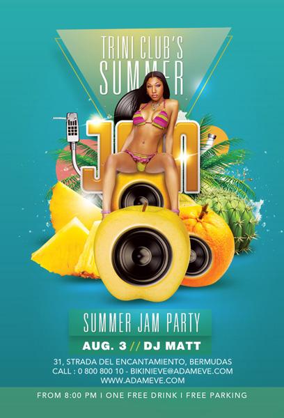 Summer Jam Flyer by n2n44