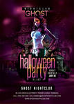 Halloween Party Flyer by n2n44