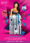 Girl night out Flyer Termplate by n2n44