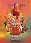 Fall Warming Party Flyer Template by n2n44