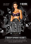 Poker Party flyer by n2n44