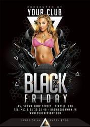 Black Friday Flyer by n2n44