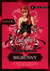 Valentine Flyer by n2n44