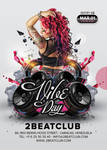 Vibe Day Party Flyer GR by n2n44