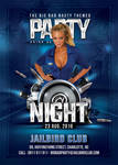 Themed Night Party Flyer by n2n44