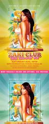 Summer Club Flyer by n2n44