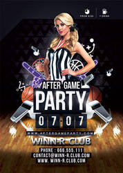 After Game Party Basketball by n2n44