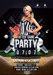 After Game Party Baseball by n2n44