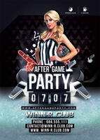 After Game Party Hockey by n2n44