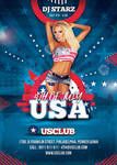 Usa 4th Of July Flyer by n2n44