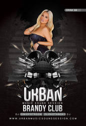Urban Party Flyer by n2n44