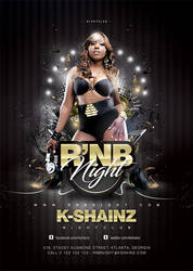 Rnb Night Flyer by n2n44