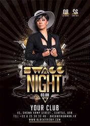 Swagg Night Flyer by n2n44