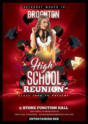 School Reunion Flyer by n2n44