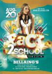 Back 2 School Flyer by n2n44