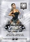 Vibes Superparty Flyer
