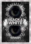 Black And White Lounge Flyer