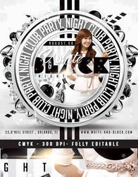 Squared White Party Flyer by n2n44