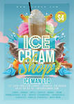 Ice Cream Shop Flyer by n2n44