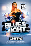 Blues Night Flyer by n2n44