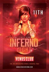 Inferno Night Flyer by n2n44