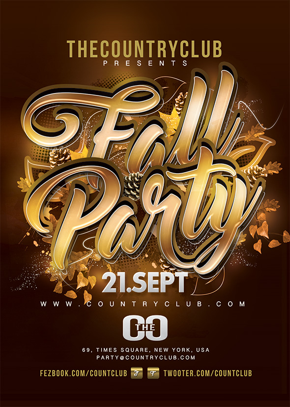 Fall Party by n2n44