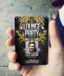 ID Card Lounge Club Badge by n2n44