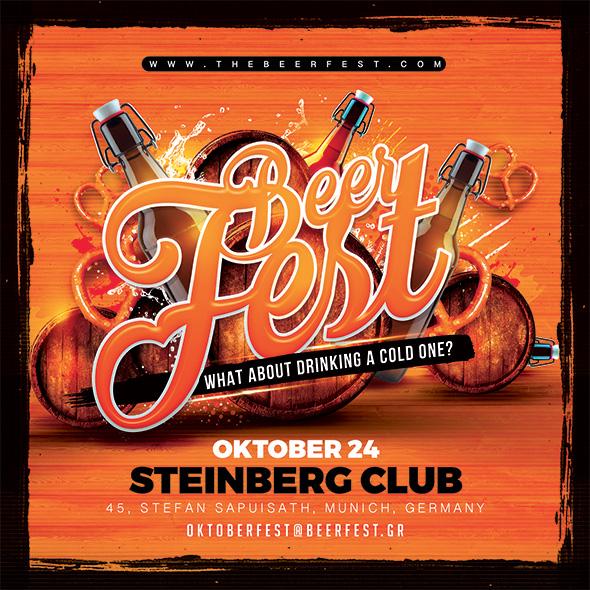 Beer Fest Flyer by n2n44