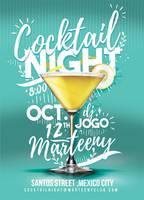 Cocktail Night Flyer by n2n44