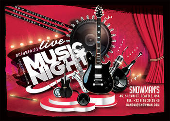 Live Music Night Show by n2n44