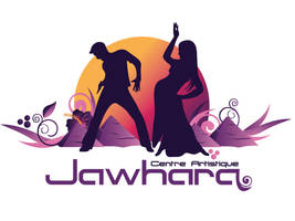 Jawhara artistic center's logo by n2n44