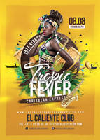 Tropic Fever Caribbean Jazz Night by n2n44
