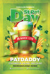 Saint Patrick Day Party Flyer Template by n2n44