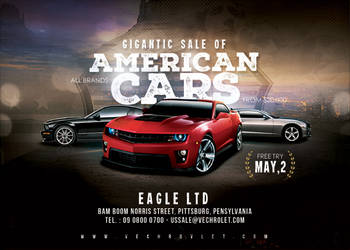 Us Car Sale Flyer by n2n44