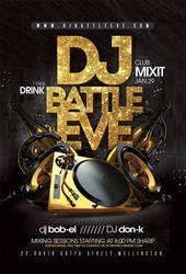 Dj Battle Night Flyer by n2n44