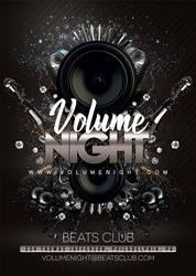 Volume Night Party Flyer by n2n44